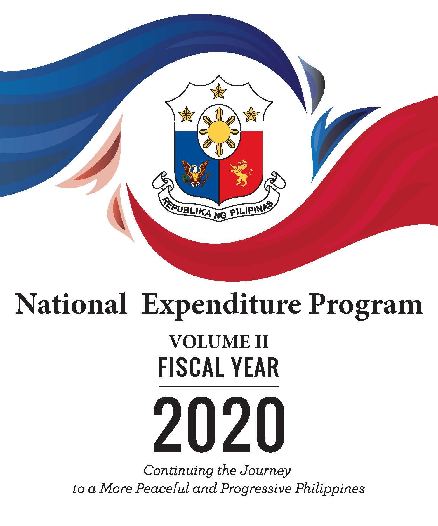 National Expenditure Program Fy 2020